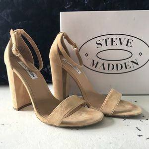 Steve Madden Carrson pumps in Sand Suede